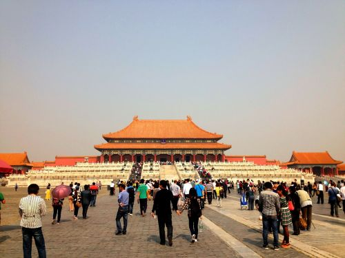 pavilion forbidden palace beijing