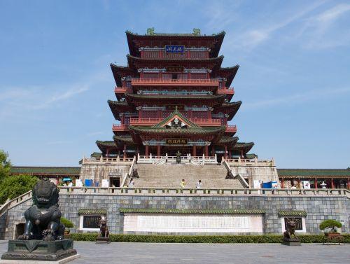 pavilion of prince teng nang chang city china