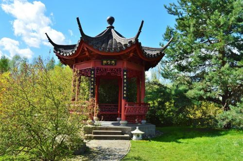 pavillion china garden gardens of the world
