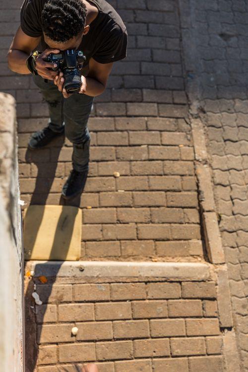 paving photographer black