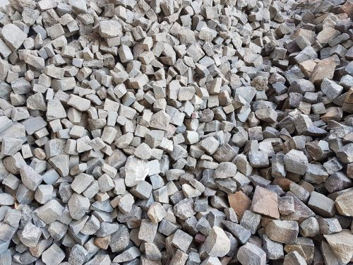 paving stones cairn construction material