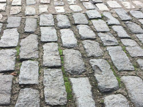 paving stones calzada soil