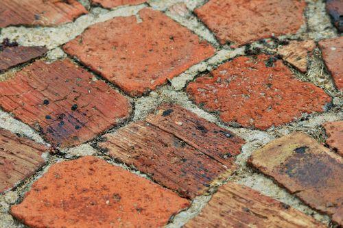 Paving With Half Bricks