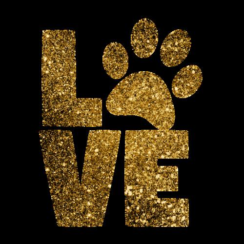 paw print love paws