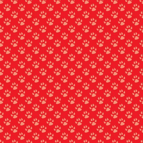 Paw Print Background Wallpaper