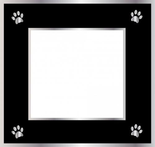 Pawprint Frame