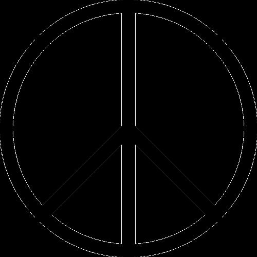 peace symbol circle