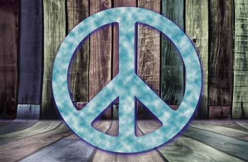 peace symbol background