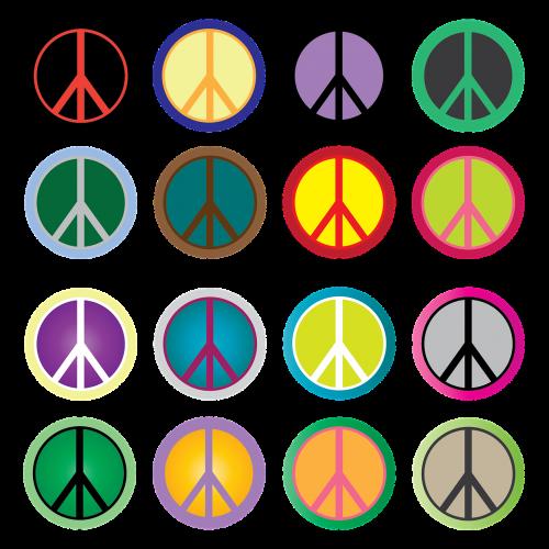 peace sign peace hippie
