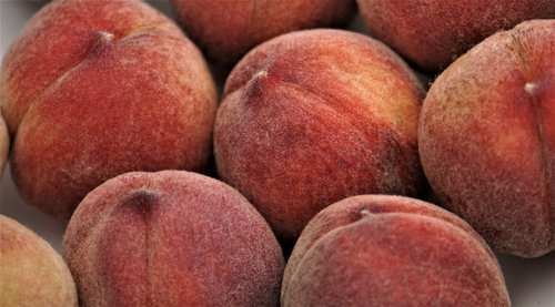 peaches  fruit  healthy
