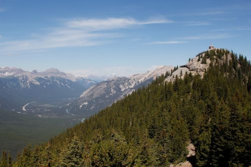 peak sulphur mountain cosmic ray station
