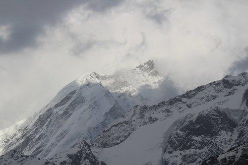 peak  summit  top