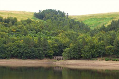 peak district reservoir ladybower reservoir