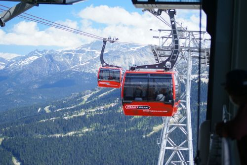 peak-to-peak gondola whistler british columbia