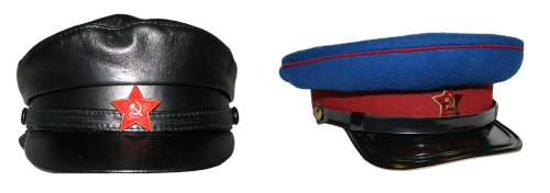 peaked cap the red army chekist