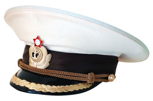 peaked cap captain navy