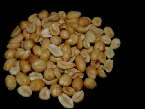 peanuts salt snack
