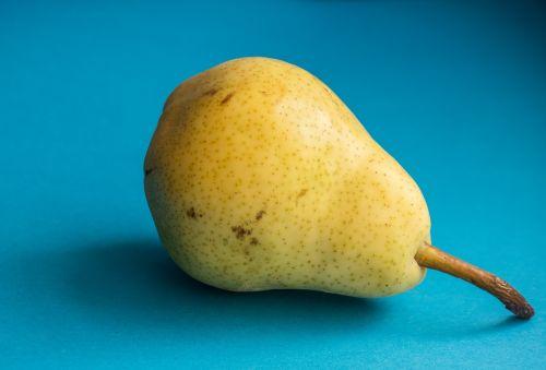 pear fruit yellow