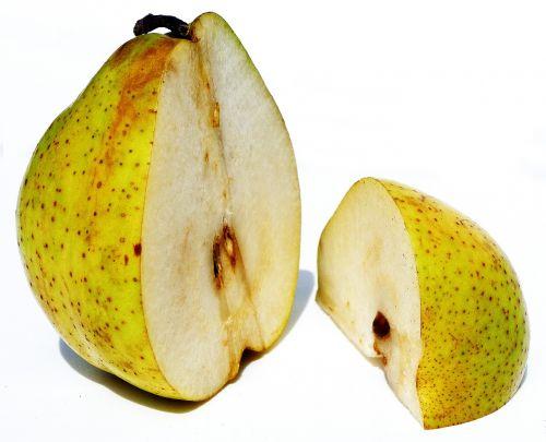 pear half a pear quarter bulb