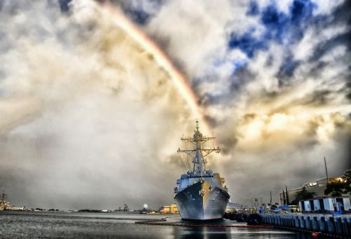 pearl harbor hawaii rainbow