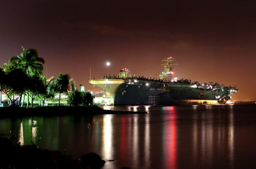 pearl harbor hawaii ship