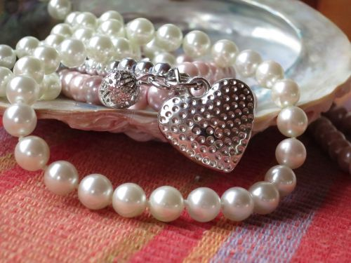 pearl necklace shell jewellery