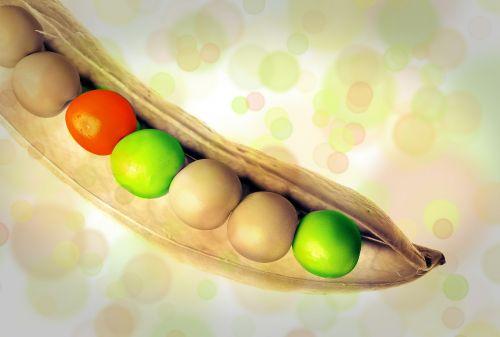 peas pea pod vegetables