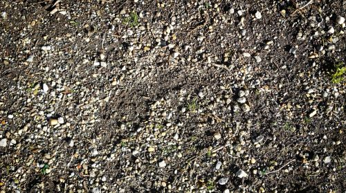 pebble underground ground