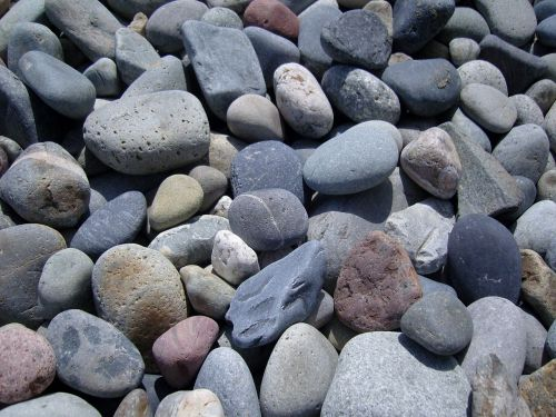 pebble grey heap