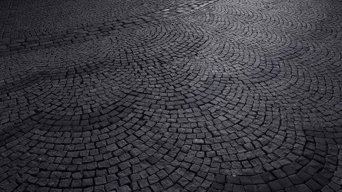 pebble road cobblestone road cobblestone