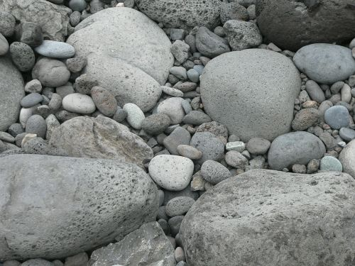 pebbles rocks stones