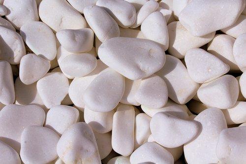 pebbles  white  smooth
