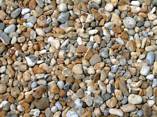 pebbles  seashore  beach