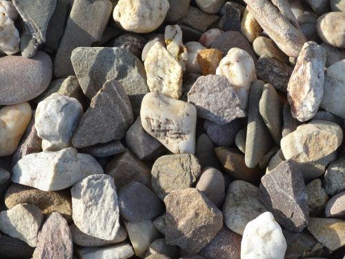 pebbles steinig nature