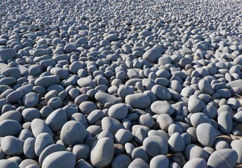 pebbles beach rocks