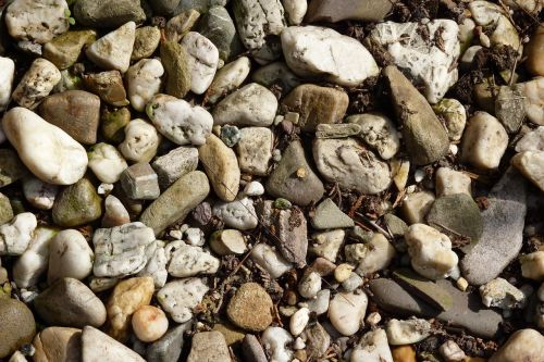 pebbles nature steinig