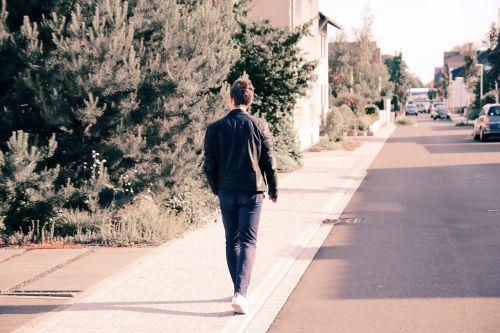 pedestrian walking people