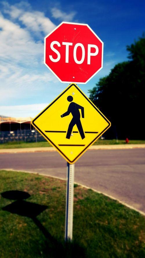 pedestrian crossing pedestrian zone pedestrians