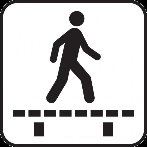 pedestrian overpass pedestrian bridge runway