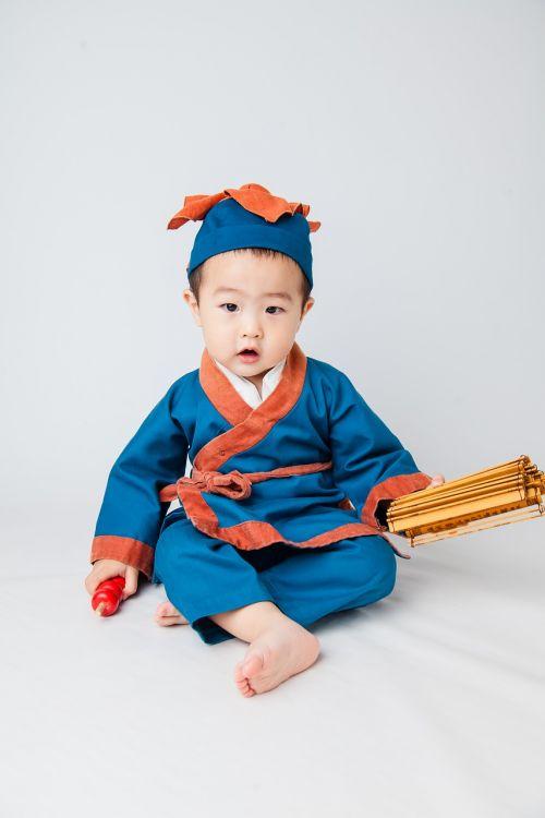 pediatric lang costume boy cute kids