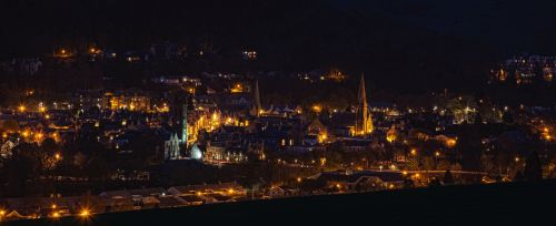 peebles night town