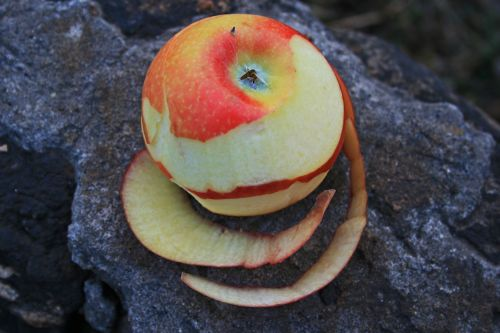 Peeled Apple 3