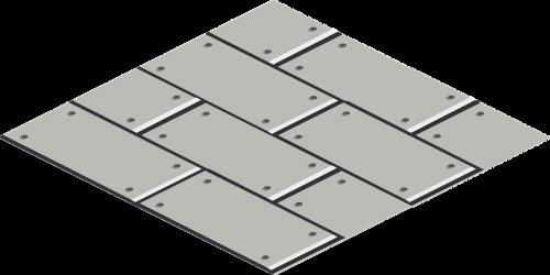peg boards tile diamond shape