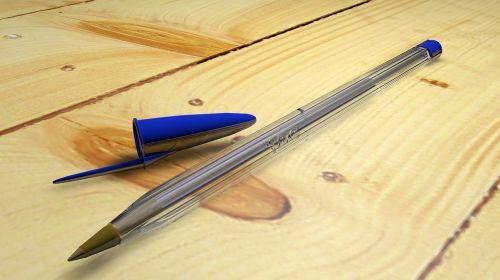 pen ballpoint pen blue pen