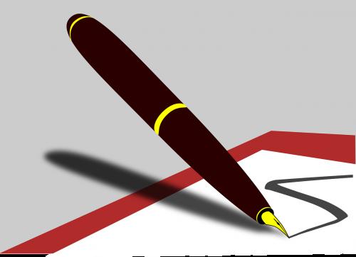 pen write scribble