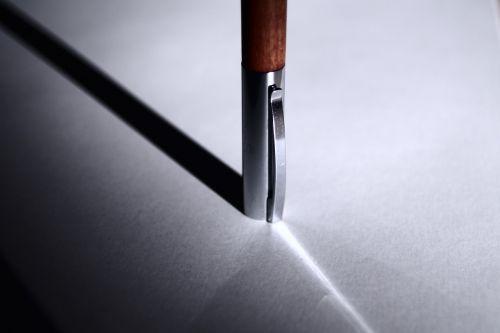 pen shadow silver