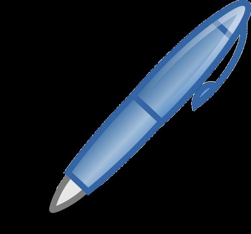 pen biro writing