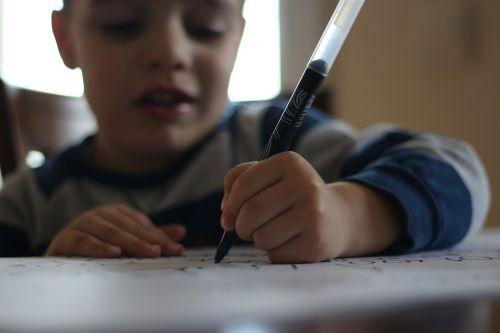 pen child write articles