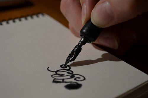 pen hand figure