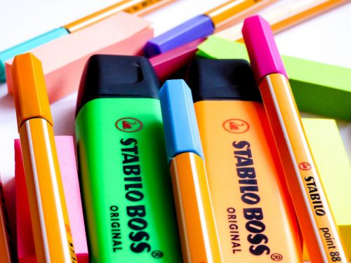 pen pencil color